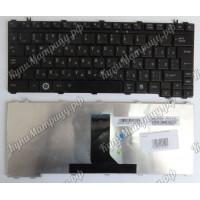 Клавиатура Toshiba A600 T130 T135 U400 U405 U500 U505  M800 M900 черная глянцевая