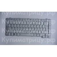 Клавиатура Toshiba A200 A300 L450 M300 серебристая