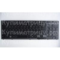 Клавиатура Toshiba A660 A660D A665 A665D P750 P755 X770 черная с серой рамкой