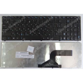 Клавиатура Asus G60 K52 N71 G72 G51 G73 с рамкой черная