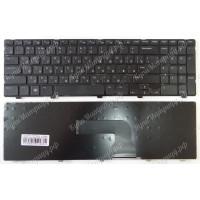 Клавиатура Dell 15-3521 15R 5521 черная с черной рамкой