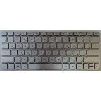 Клавиатура HP 1103 110-3500 210-3000 серебристая с рамкой