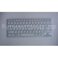 Клавиатура Sony SVE1411 с рамкой белая