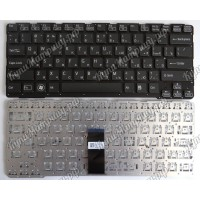 Клавиатура Sony SVE14A черная без рамки