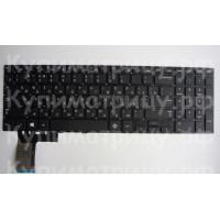 Клавиатура Samsung 370R5E без рамки черная плоский enter