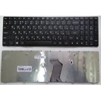 Клавиатура Lenovo G500 черная с черной рамкой