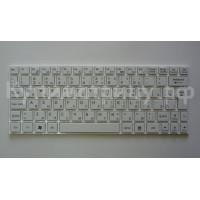 Клавиатура MSI U135 U160 белая с белой рамкой