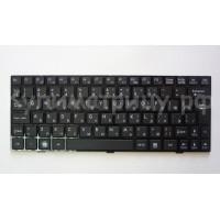 Клавиатура MSI U135 U160 черная с черной рамкой