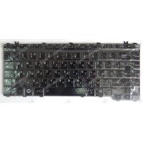 Клавиатура Toshiba A200 A300 L450 M300 черная глянцевая