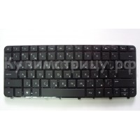 Клавиатура HP 13 13-1000 черная с рамкой и подсветкой