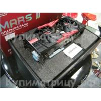 Видеокарта Mars II gtx590 3 ГБ 384BITx2 1024SP
