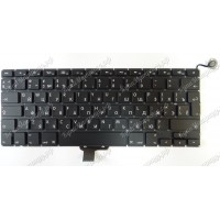 Клавиатура Apple A1278 RU черная большой enter