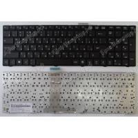 Клавиатура MSI A6200 A6205 A6500 CR620 CR630 CR650 CR720 CX605 CX620 S6000 черная с черной рамкой
