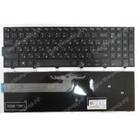 Клавиатура Dell 15-3000 15-3542 15-5000 15-5521 15-5542 15-5547 черная с черной рамкой