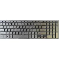 Клавиатура Sony FIT15 SVF15 SVF152 FIT 15 серебристая без рамки