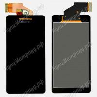 Дисплей Sony LT25i + тачскрин черный