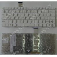 Клавиатура Asus 1015 белая без рамки плоский enter