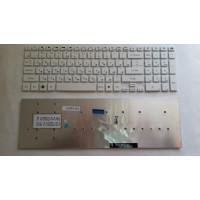 Клавиатура Gateway NV55 NV57 Packard Bell LS11 LS13 TS13 белая без рамки