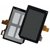 Дисплей Acer B1-A71 + тачскрин черный
