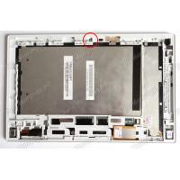 Дисплей Sony SGP312A2 + тачскрин черный с белым корпусом
