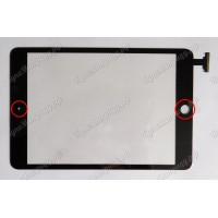 Тачскрин iPad mini mini2 черный ориг