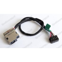 Разъем питания HP 15-E с кабелем
