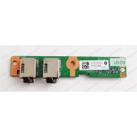 Плата Audio HP CQ61 с разбора