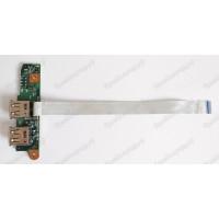 Плата USB Toshiba A100-529 с разбора