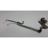 Плата USB разъем питания HP DV6700 DDAT8APB3001308 с разбора