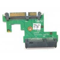 Плата подключения жесткого диска SATA HP 620 HP 625  с разбора
