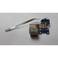 Плата USB Toshiba C850-B7K с разбора