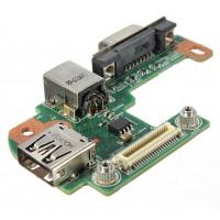 Плата USB питания VGA Dell N5110 M5110 с разбора