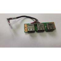 Плата USB Acer 5220 5420 5620 7620 532 5520 5720 7520 7720 с разбора