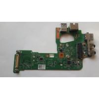 Плата USB Audio RJ45 Dell N5110 с разбора