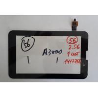 Тачскрин Lenovo A3000 A.2 NTP070CM352001 NAS_ 207011100008 C2C1C4R1C5 OF 0834-01 2-1 8pin черный