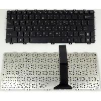 Клавиатура Asus 1015 черная без рамки плоский enter с разбора