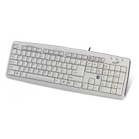 Клавиатура Genius KB-06XE USB белая