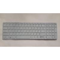 Клавиатура HP 15 15-E 15-G 15-N 15-R 15T-E 15T-N 15Z-E белая с рамкой