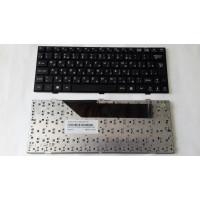 Клавиатура MSI U135 U160 черная с черной рамкой с разбора