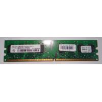 Оперативная память для компьютера DDR2 1GB 2Rx8 PC2-5300U-555-12