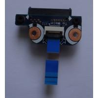 Плата подключения оптического привода SATA Samsung NP-R519-JS01RU с разбора