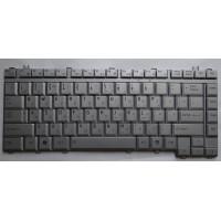 Клавиатура Toshiba A200 A300 L450 M300 серебристая плоский enter