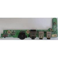 Плата Audio Toshiba P100-257 с разбора