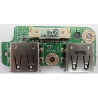 Плата USB Toshiba P100-257 с разбора