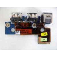Плата USB Toshiba A300D - 14P с разбора