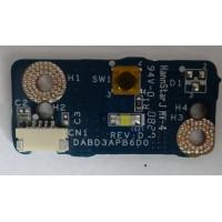 Плата кнопки включения Toshiba A300D - 14P с разбора