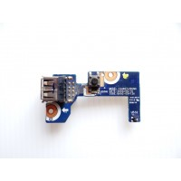 Плата USB кнопка включения Samsung NP-R520 с разбора