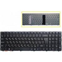Клавиатура DNS Clevo WA50SFQ WA50SHQ черная без рамки
