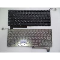 Клавиатура Apple A1286 RU черная плоский enter