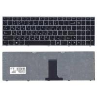 Клавиатура Lenovo B5400 M5400 с серебрянной рамкой